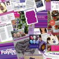 polymer to art purple content page