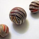Tutorial to make stripy beads