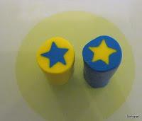 polymer clay star canes