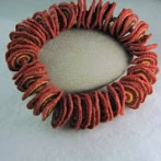 'Dark Red with a Yell' Jewellery