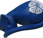 Sleeping Cat from polymer clay