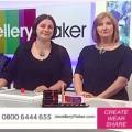 Cara Jane, Debbie Bullford and Presenter Becky Jewellery Maker Kato demonstration