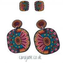 Big, bold and colourful earring fun!