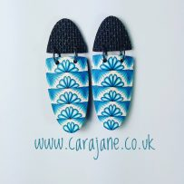 'Versa-tile' cane earrings