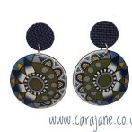 Large Blue and Green Cane Jewellery