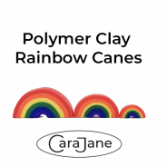 Polymer Clay Rainbow Canes