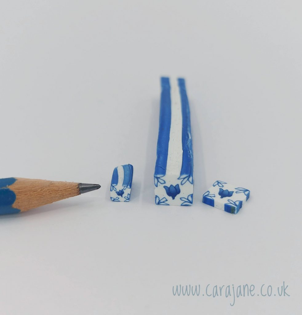 Cara Jane Tiny Tulip Tile Polymer Clay Canes